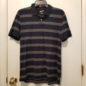 Arizona Jean Co Striped Polo Shirt